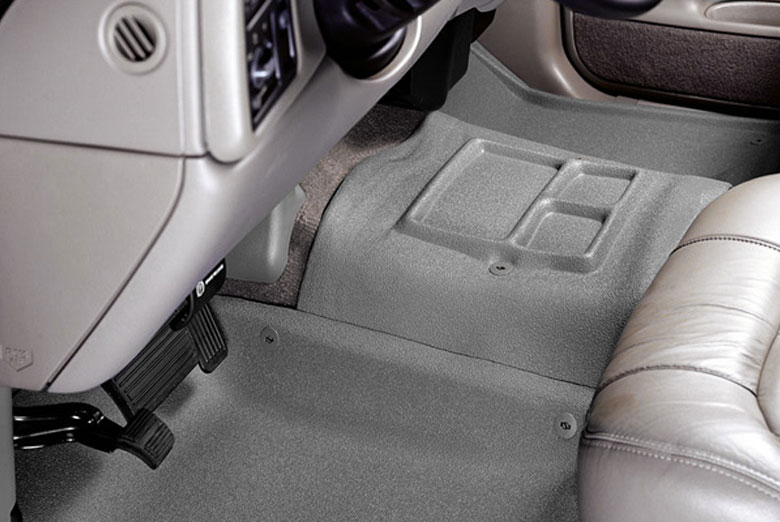 2000 Chevrolet CK Catch-All Xtreme Gray Center Hump Floor Mats W/O Center Console W/O Floor Shifter