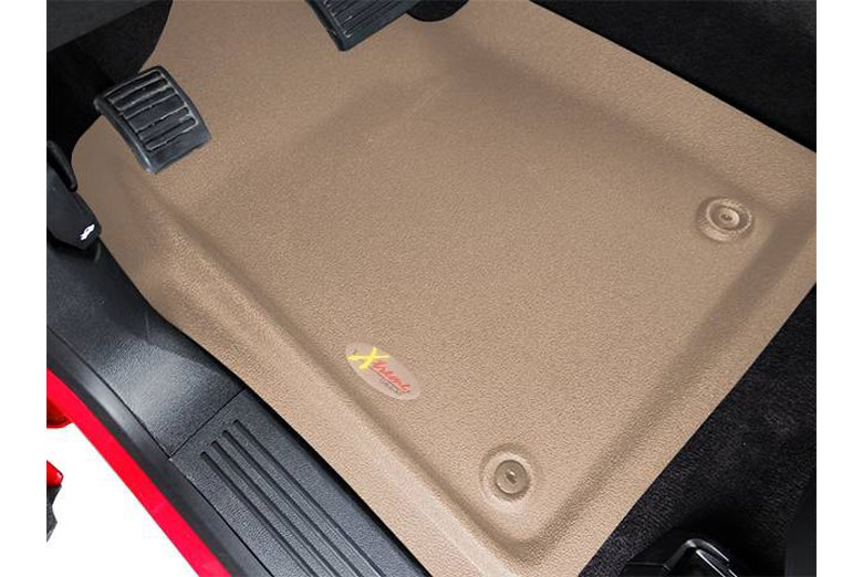 1997 Toyota Tacoma Catch-All Xtreme Tan Front Floor Mats