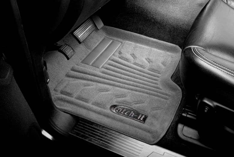 2011 Saturn Outlook Catch-It Gray Carpet Front Floor Mats