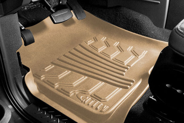 2003 Volkswagen Passat Catch-It Tan Front Floor Mats