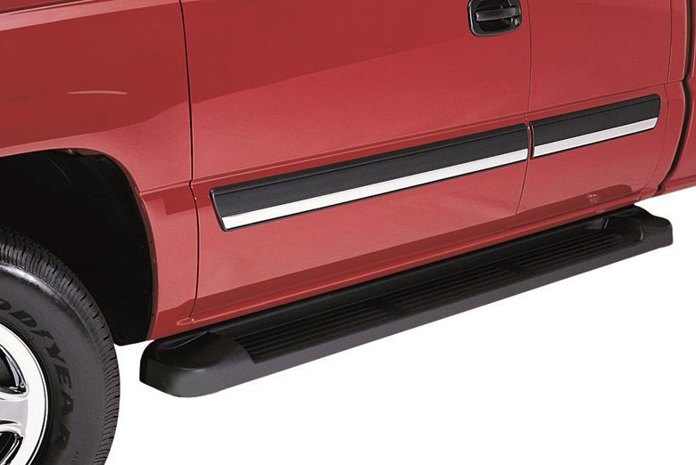 2002 Chevrolet  Blazer Factory Style Brite Running Boards (4 Door)