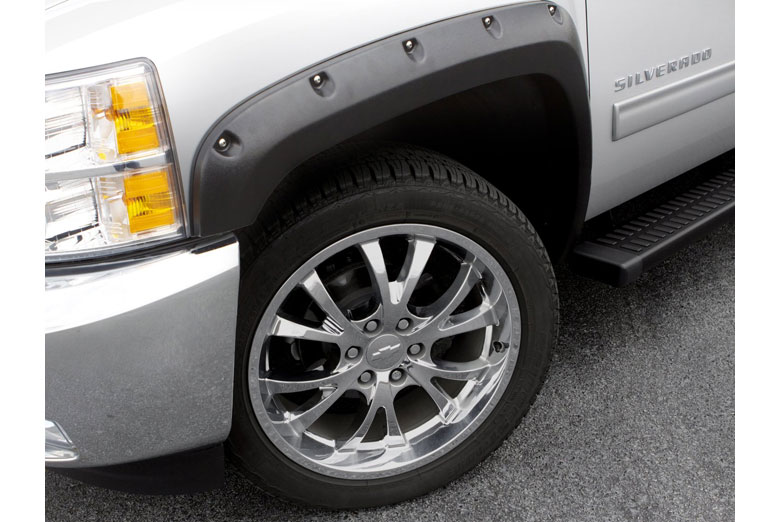 2007 Ford F-350 Lund RX-Rivet Textured Front Set Fender Flares