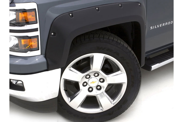 2007 Ford F-350 Lund RX-Rivet Full Set Fender Flares