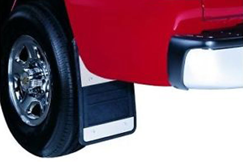 2013 Ford F-150 Stainless Steel Mud Flaps