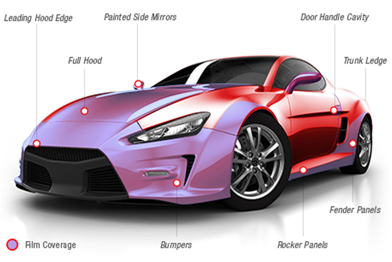 3m 174 Universal Scotchgard Paint Protection Film