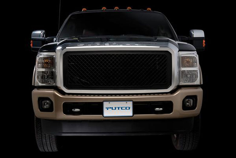 2014 Ford F-250 Boss Grille