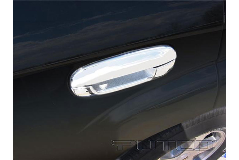 2005 Chevrolet Trailblazer Chrome Trim Accessories