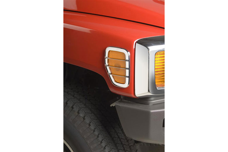 2009 Hummer H3T Side Marker Lamp Covers