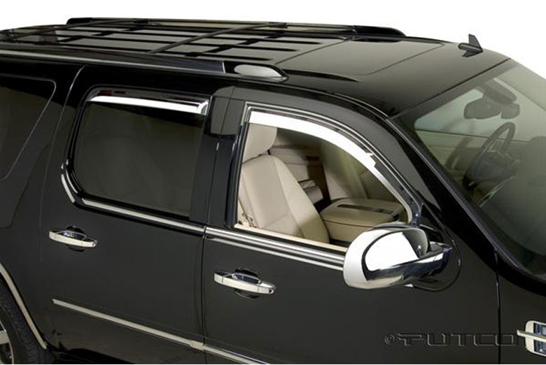 2010 Cadillac Escalade Element Window Visors