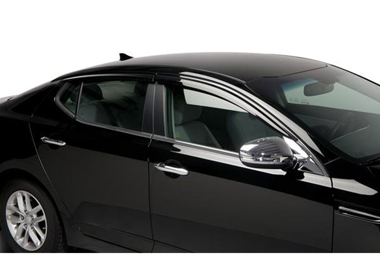 2012 Kia Optima Element Tinted Window Visors