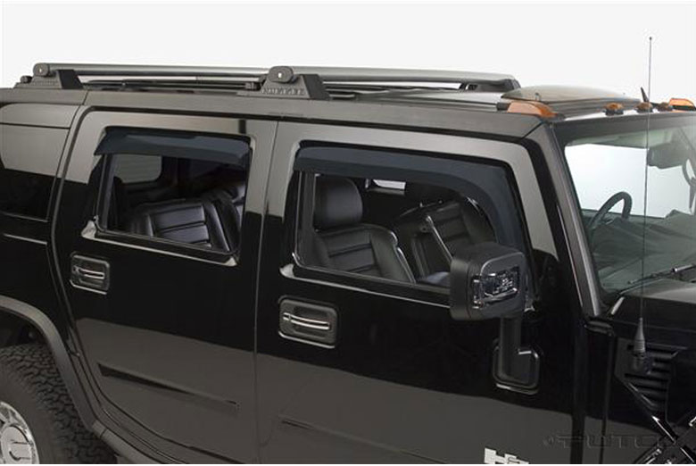 2005 Hummer H2 Element Tinted Window Visors