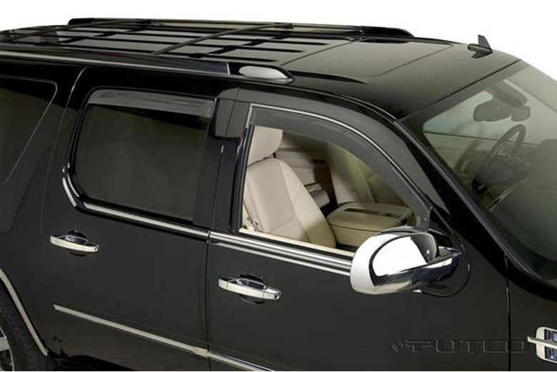 2010 Cadillac Escalade Element Tinted Window Visors