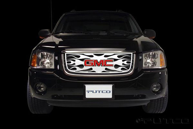 2008 GMC Envoy Flaming Inferno Grille