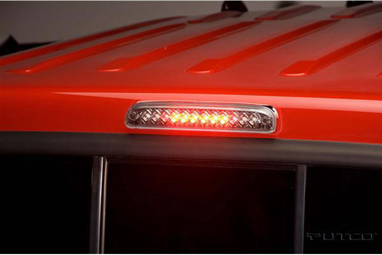 2014 Ford F-250 LED Clear Third Brake Lights