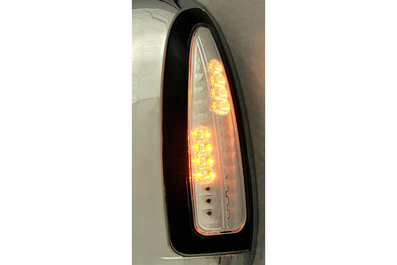 2007 Ford Excursion LED Clear Third Brake Lights