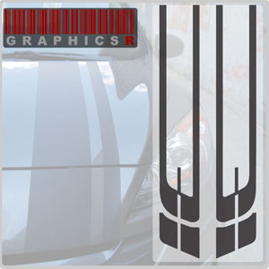 Racing Stripes - Charger Graphic