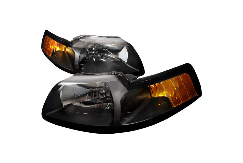 2003 Ford Mustang Aftermarket Headlights