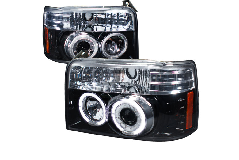 1996 Ford F-350 Aftermarket Headlights