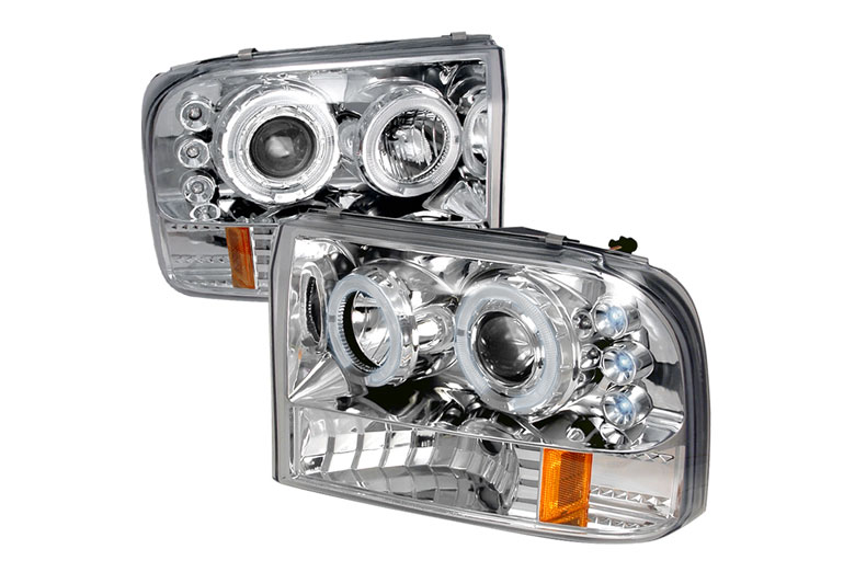 2000 Ford Excursion Aftermarket Headlights