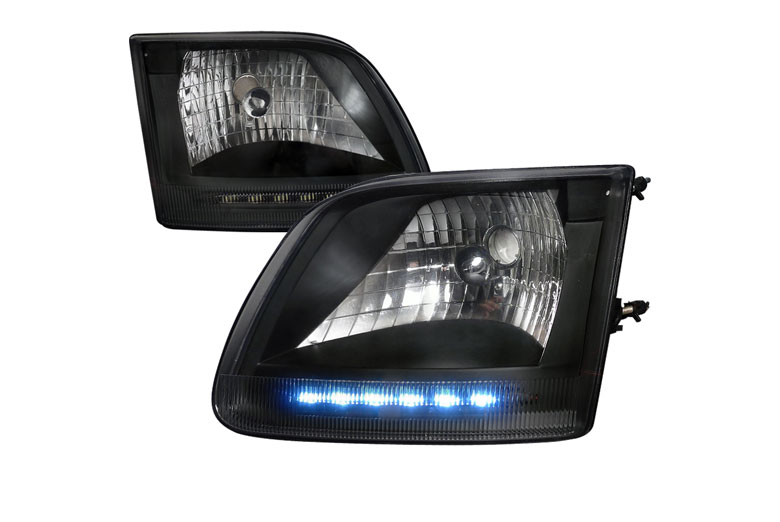 1999 Ford F-150 Aftermarket Headlights