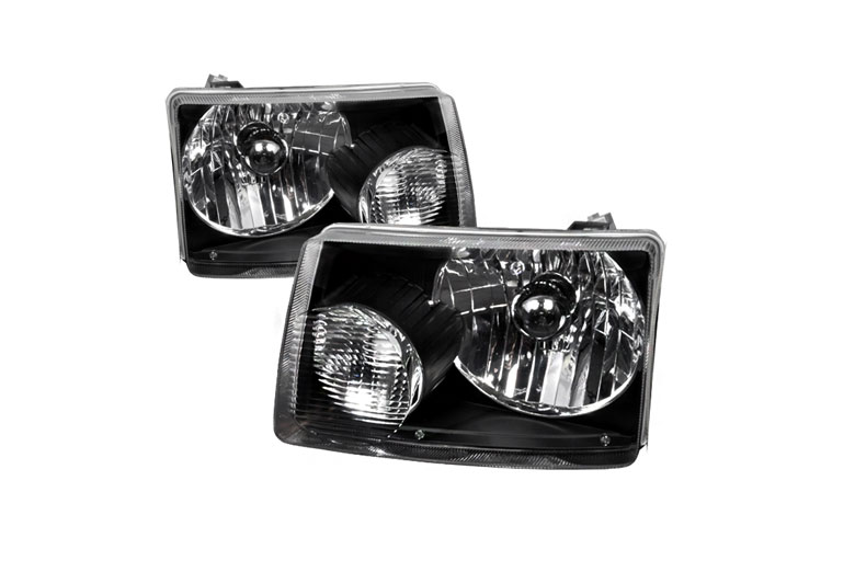 2002 Ford Ranger Aftermarket Headlights