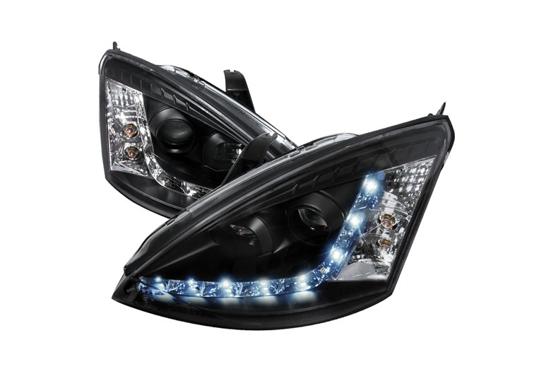 2002 Ford Focus Aftermarket Headlights