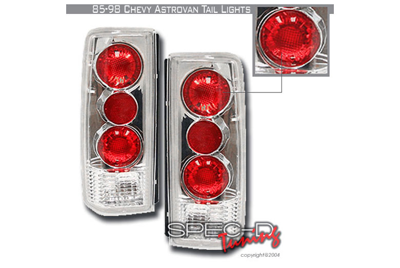 1997 Chevrolet Astro Aftermarket Tail Lights