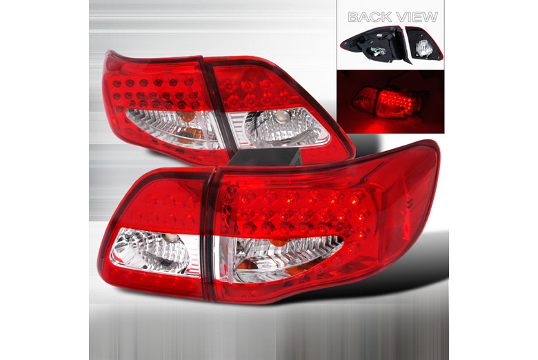 2009 Toyota Corolla Aftermarket Tail Lights