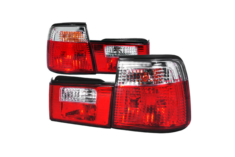 1990 BMW 5-Series Aftermarket Tail Lights