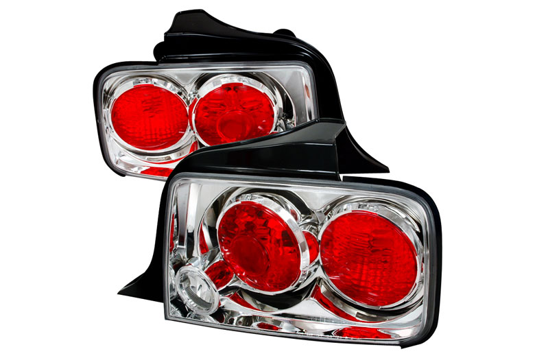2008 ford mustang custom tail lights 2008 ford mustang. Black Bedroom Furniture Sets. Home Design Ideas