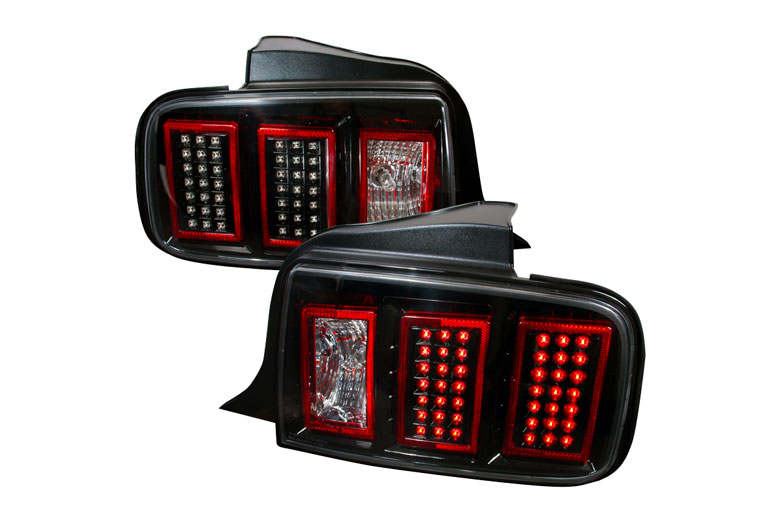 2007 ford mustang custom tail lights 2007 ford mustang. Black Bedroom Furniture Sets. Home Design Ideas