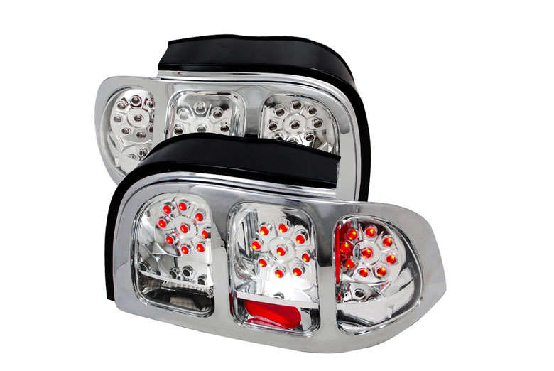 1996 ford mustang custom tail lights 1996 ford mustang. Black Bedroom Furniture Sets. Home Design Ideas