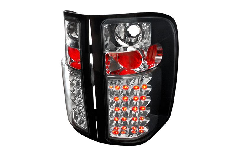 2009 chevrolet silverado custom tail lights 2009. Black Bedroom Furniture Sets. Home Design Ideas