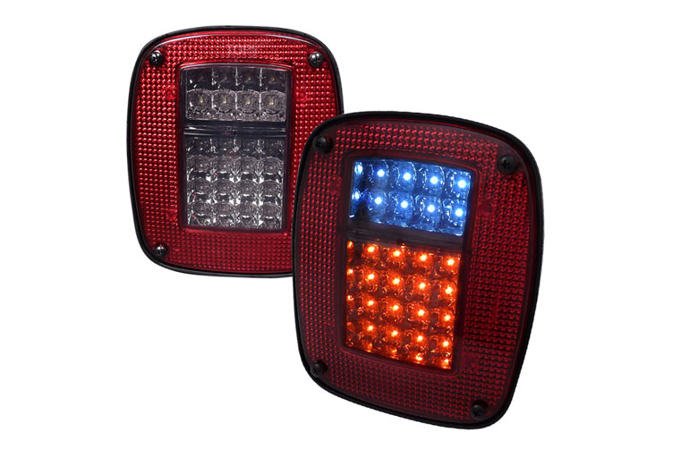 1991 Jeep Wrangler Aftermarket Tail Lights