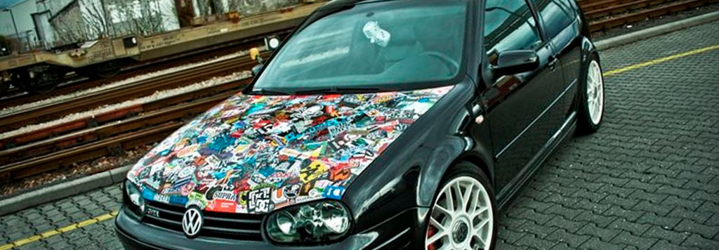 Sticker Bomb Wrap Sticker Bomb Vinyl Wrap Film