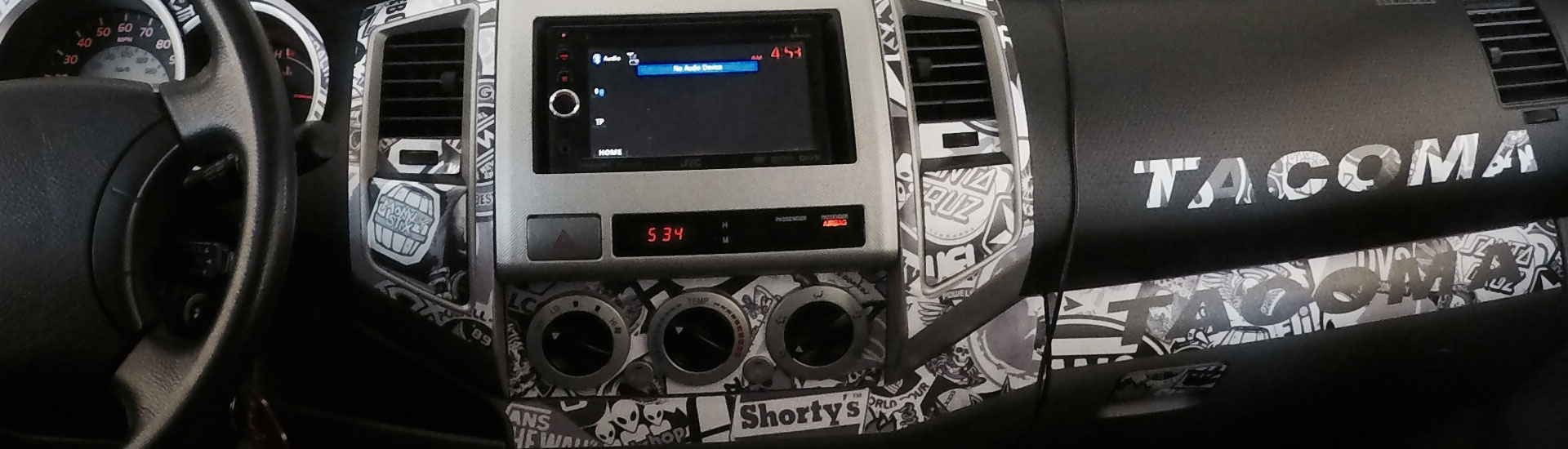 Toyota Tacoma Dash Kits | Custom Toyota Tacoma Dash Kit
