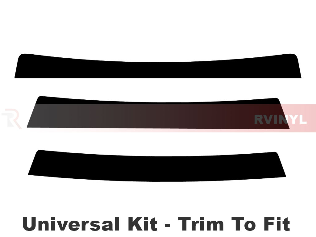 Rtint Universal Windshield Visor Tint Strips