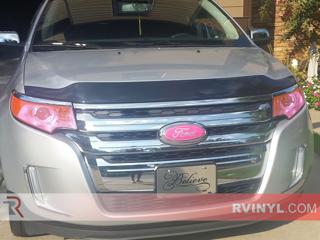 2014 Ford Edge Pink Smoke Headlight Covers