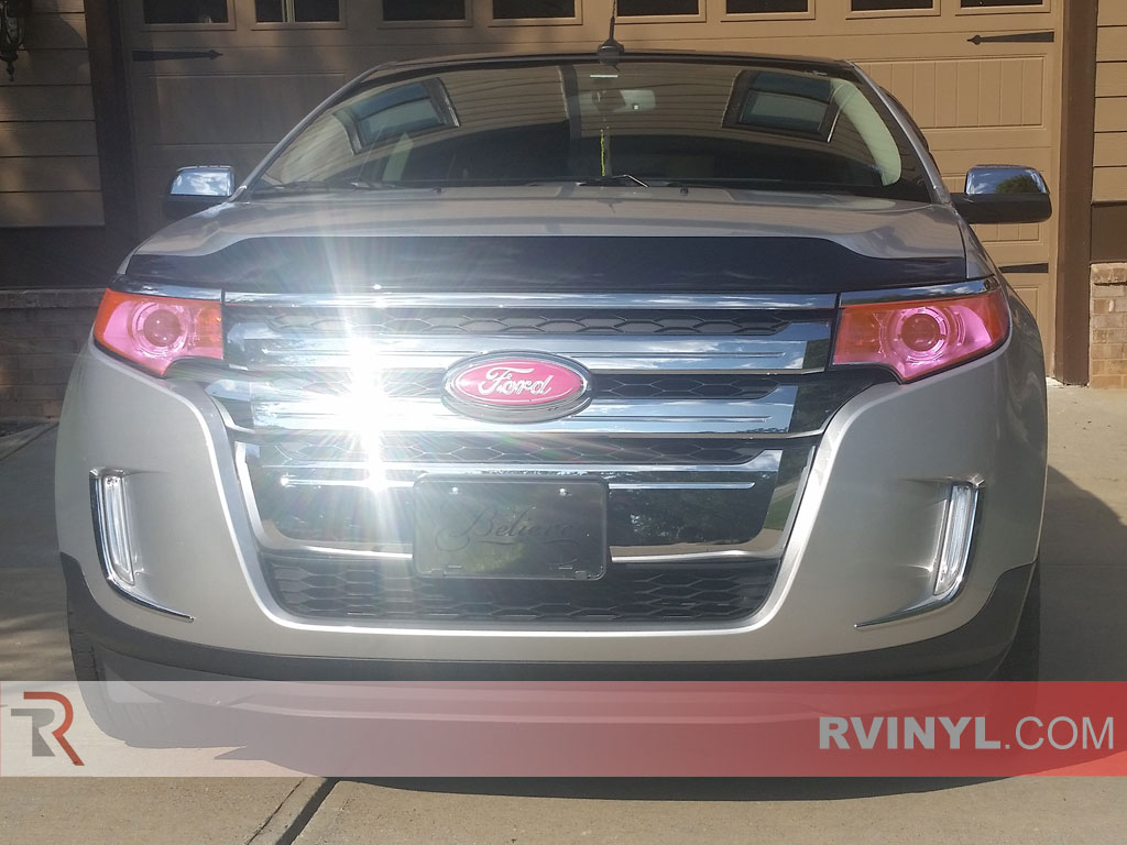 Rtint® Headlight Tints - Ford Edge Pink Smoke