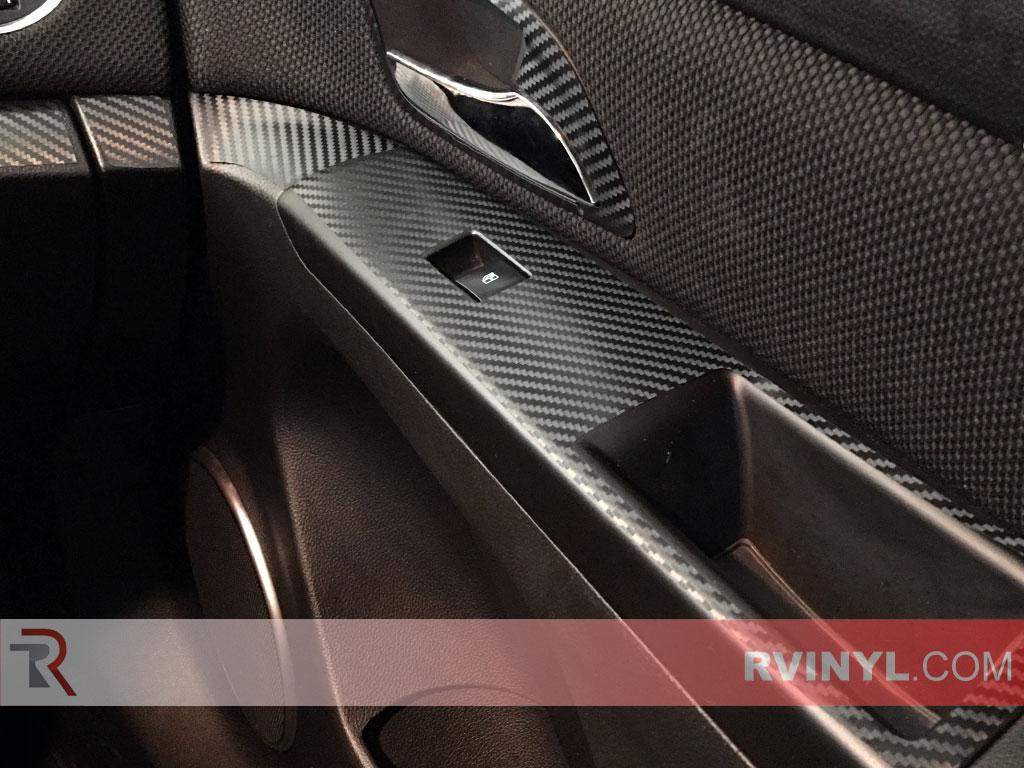 Passenger Door Panel - 2015 Chevy Cruze Carbon Fiber Dash Kit