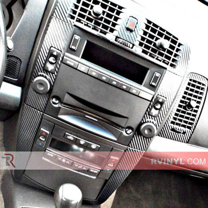 2007 Cadillac CTS Carbon Fiber Dash Kit