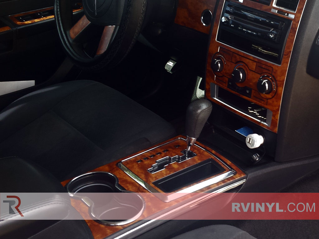 Chrysler C Dark Burlwood Dash Kit