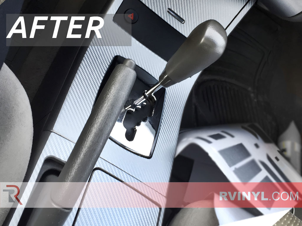 Restore your interior for under 50 silver carbon fiber rdash trim kit 2005 nissan altima restored shifter console vanachro Image collections