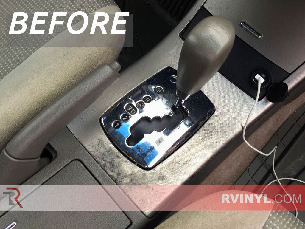 Restore your interior for under 50 silver carbon fiber rdash trim kit 2005 nissan altima damaged shifter console vanachro Images