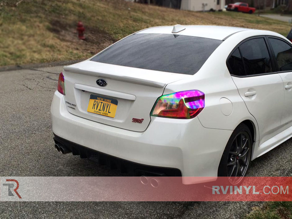 Mike's 2016 Subaru WRX STI with Chameleon Tinted Taillights