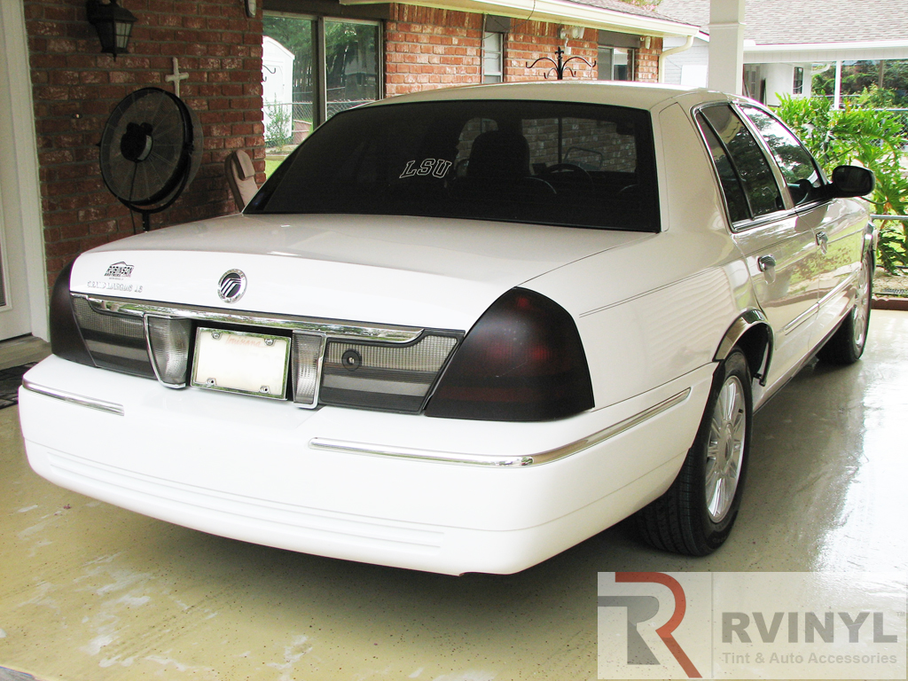 2008 Mercury Grand Marquis Rtint Taillight Tint Covers