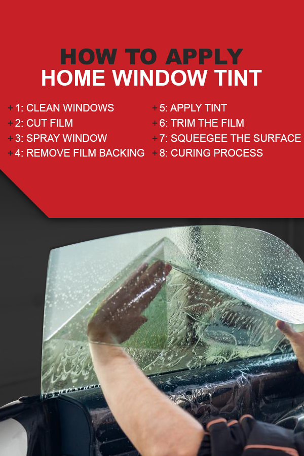 How to Apply Home Window Tint