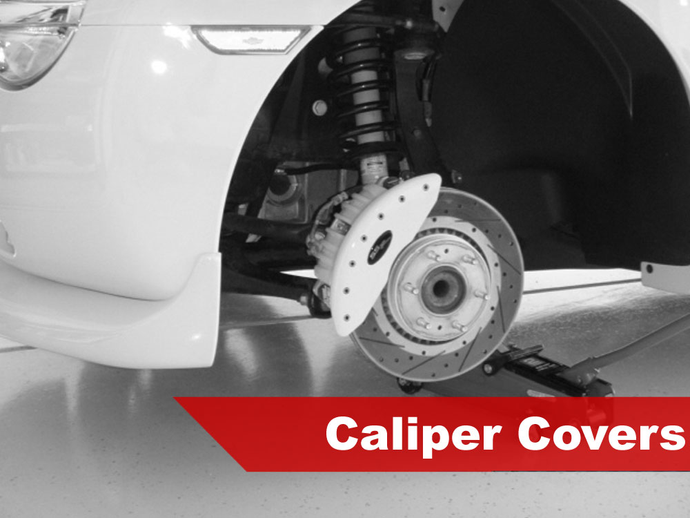 2004 Mitsubishi Evolution Caliper Covers
