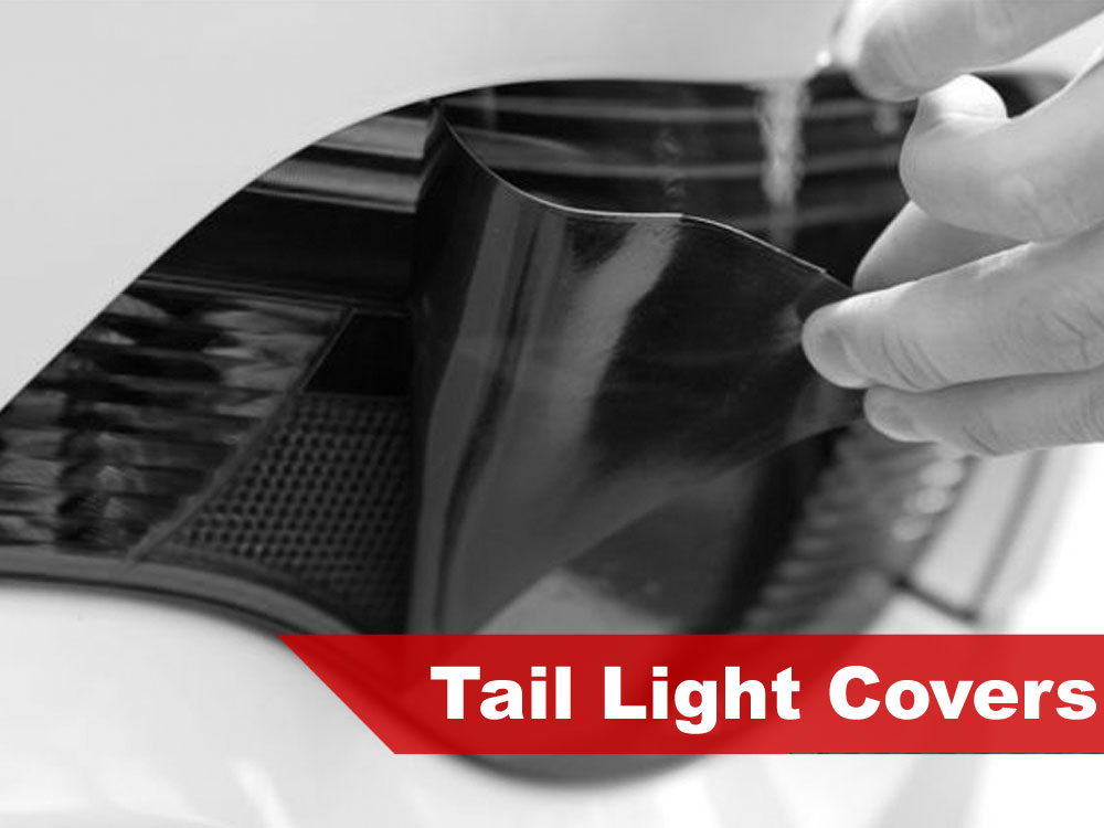2012 Dodge Avenger Tail Light Tint Covers