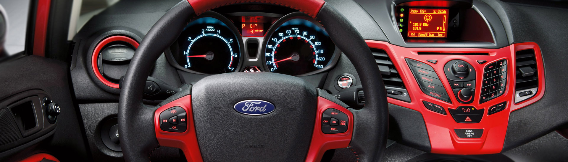 2018 Ford Fiesta Custom Dash Kits